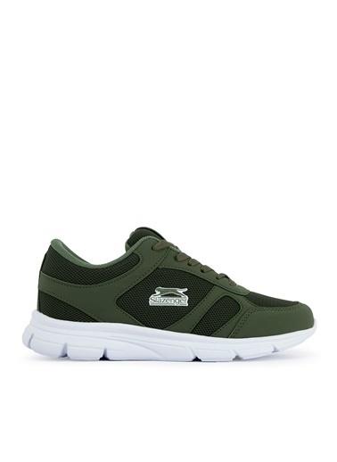 Slazenger Slazenger ESCAPE I Sneaker Kadın Ayakkabı K. Haki